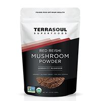 Poudre de champignons Red Reishi de Terrasoul Superfoods