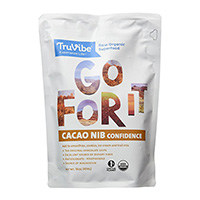 TruVibe 100% organiques premières Cacao Nibs