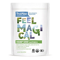 TruVibe 100% ორგანული Raw Hemp თესლი