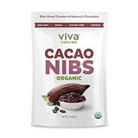 Viva Labs Сурови счуканите какаови зърна