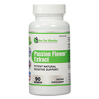 New You Vitamins Passion Flower Extract