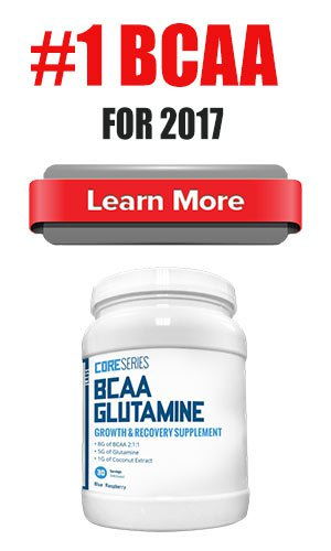 CoreSeries BCAA glutammina