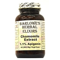 Herbal Elixirs Chamomile Extract Barlowe ini - 1 1% Apigenin