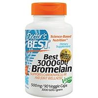 Doctor's Best 3000 GDU Bromelain