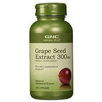 GNC Herbal Thêm Grape Seed Extract