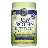 Garden-of-Life-Organic-Greens-and-Protein-Pulver