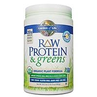 Proteina e verdure crude del Garden Of Life