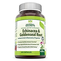 Herbal Secrets Echinacea & Goldenseal Root