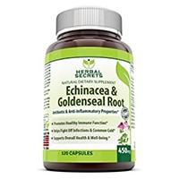 Herbal Secrets Echinacea & Gelbwurzel Wurzel