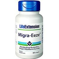 Life Extension Migra Eeze Butterbur Jengibre Riboflavina