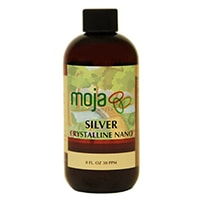 MojaWorks Natural Nano Colloidal Silver Liquid Mineral Supplement