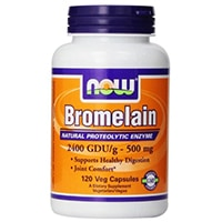 NOW Foods Bromelain 2400Gdu 500mg