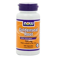 NOW Foods Goldenseal Root 500mg