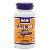 NOW Foods Goldenseal Root 500mg
