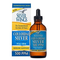 Camino Natural Suplemento dietético Mineral Silver Wings, plata coloidal