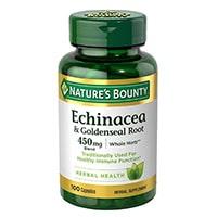 Nature's Bounty Echinacea & Goldenseal Plus
