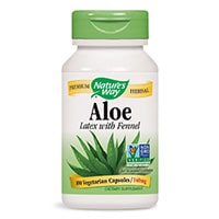 -Way-Natures Aloe vera-capsule