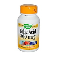 Nature's Way - Folic Acid, 800 mcg