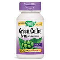 Luonnon tapa Green Coffee Bean uute