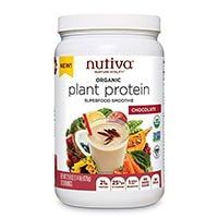 Nutiva 유기농 식물 단백질 슈퍼 푸드