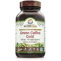 Nutrigold Pure მწვანე ყავა Bean ამონაწერი
