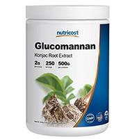 Nutricost گلوکومانان پودر