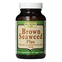Only Natural Nutritional Veggie Capsules, Brown Seaweed Plus