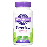 Oregon's Wild Harvest Feverfew Freeze-Dried Organic Capsules
