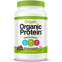 Orgain organico pianta in polvere a base di proteine