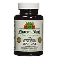 Pharm-Aloe® 100% замразява сушени Aloe Vera