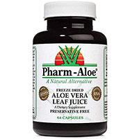 Pharm Aloe 100 Freeze Dried Aloe Vera