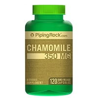 Piping Rock Health Products Chamomile 350 mg
