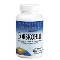 الكواكب الأعشاب Forskohlii الطيف الكامل