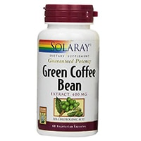 Solaray Green Coffee Bean Pura Kapselit
