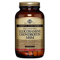 Solgar Triple Strength Glukozamina chondroityny MSM