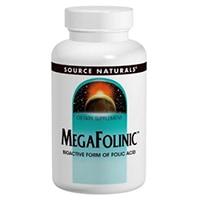 Source Naturals MegaFolinic 800mcg