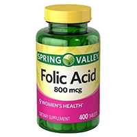 Spring Valley - Foliensuur 800 MCG
