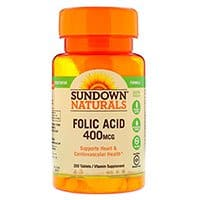 Sundown-Naturals-Folic-Acid