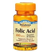 Sundown Naturals Folic Acid