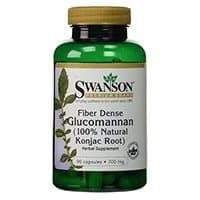 Swanson Prêmio fibra densa Glucomanan