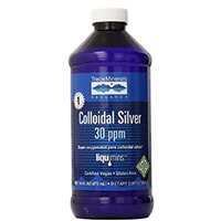 ट्रेस खनिज अनुसंधान CLS02 - कोलाइडयन चांदी 30 पीपीएम अनुपूरक