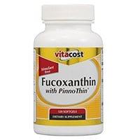 Vitacost Fucoxanthin kanssa Pinno Thin