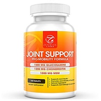 Zenwise Labs Joint Support - Kompleks av 1500mg Glucosamine sulfat & 1200mg Chondroitin