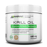 AMRAP पोषण - ओमेगा 3 क्रिल्ल तेल कैप्सूल