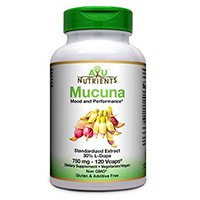 Ayu Nutrients Mucuna (30% L-Dopa) - 750mg