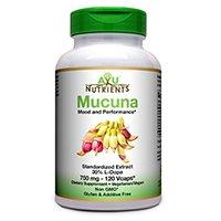 ها Ayu مواد مغذی Mucuna جنسی (30٪ L-DOPA) - 750mg