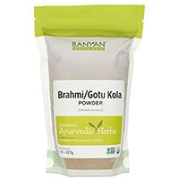 Banyan Botanicals Brahmi Centella Asiática Polvo