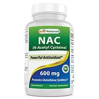 Paras Naturals Nac N -asetyyli L-kysteiini