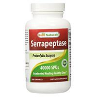 ที่ดีที่สุด Naturals Serrapeptase
