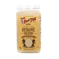 Sementes Red Mill gergelim branco de Bob